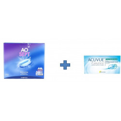 PACK : ACUVUE OASYS FOR PRESBYOPIA 6 MOIS + OXYDANT PRODUIT -30%