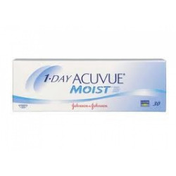 LENTILLES JOURNALIERES ONE DAY ACUVUE MOIST 30L