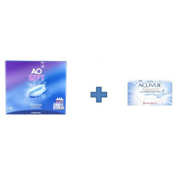 PACK : ACUVUE OASYS FOR ASTIGMATISM 6 MOIS + OXYDANT PRODUITS -30%