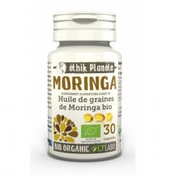huile de graines de moringa Bio capsules