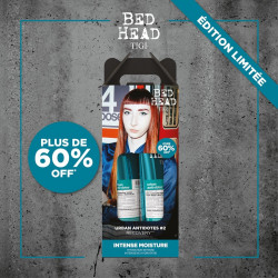 pack duo shampoing 250 ml + soin 200 ml recovery tigi