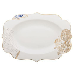 Plat ovale Royal White, Pip Studio