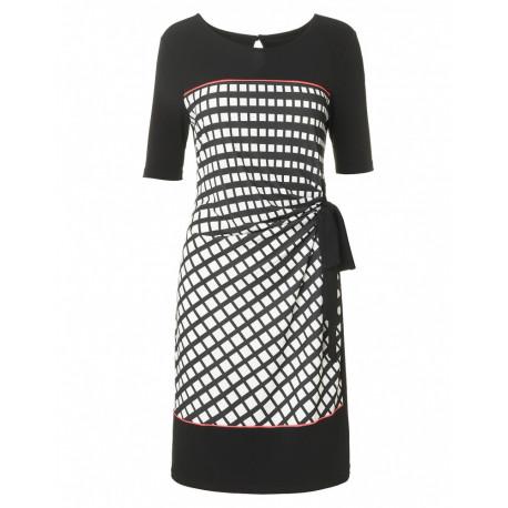 robe graphique Christine Laure