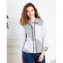 chemise Christine Laure Espace mode du coteau