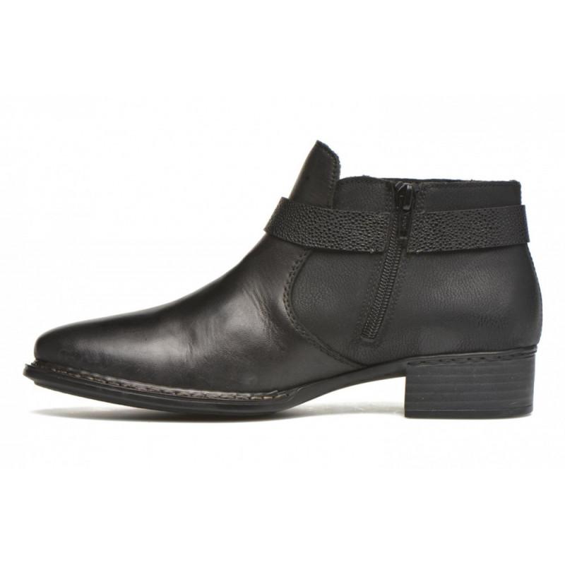 Chaussures cuir femme Rieker antistress belles souples