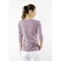 T-shirt manches 3/4 Garde-Côte imprimé Cordage/Rio