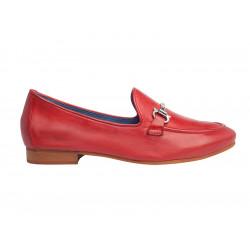 Chaussure Femme Type Mocassins Regarde Le Ciel