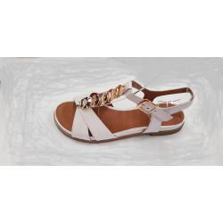 Chaussure Femme sandales Regarde Le Ciel