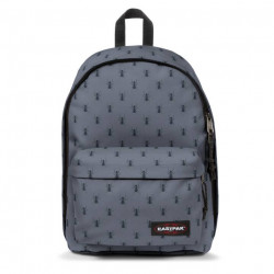 Sac à dos eastpak Out Of Office 29w Bugged Grey Maroquinerie Quey Charlieu