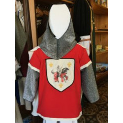 COSTUME CHEVALIER ROUGE ENFANT