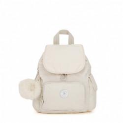 Sac à dos - Kipling - City Pack Mini Dazz White -Maroquinerie Quey Charlieu