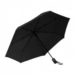 Parapluie pliant beau Nuage L'Automatique Noir Immuable Maroquinerie Quey Charlieu