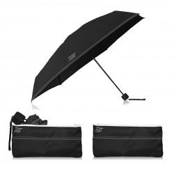 Parapluie pliant beau Nuage Le Mini Noir Immuable Maroquinerie Quey Charlieu