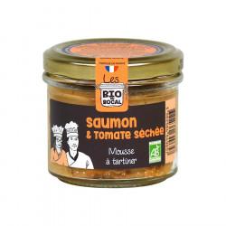 Mousse à tartiner, Saumon & tomates séchées Bio