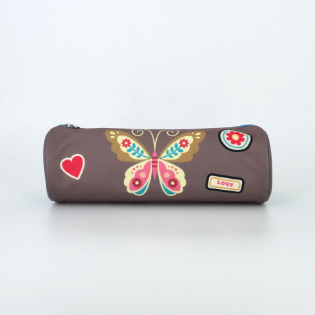 Trousse Pol Fox Butterfly-Maroquinerie Quey Charlieu