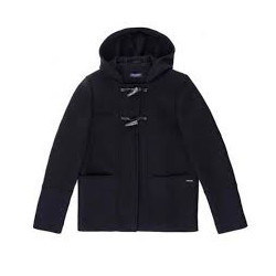 Manteau court esprit duffle-coat Ste-Nolween Navy Saint James