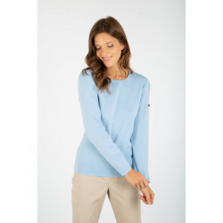 Pull col rond Pontivy nuage 76510 Armor Lux