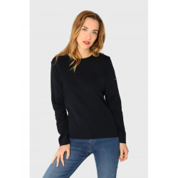 Pull col rond Pontivy Navy 76510 Armor Lux