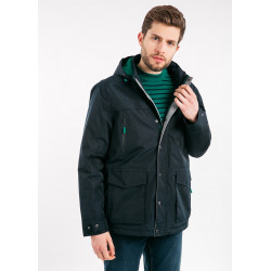 Parka nautique St-Hugues Amiral & Green Saint James