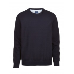 Pull coton Olymp Casual 0160/11/14 Bleu nuit