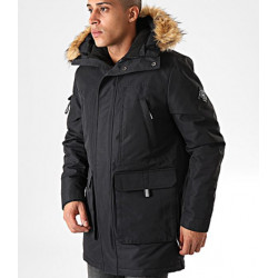 laboutiqueofficielle.com/Parka Teddy Smith P-Kilian Noir