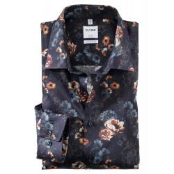Chemises manches longues comfort fit 100% coton sans repassage et infroissable 1005/44/28