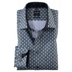 Chemise manches longues modern fit 100% coton sans repassage et infroissable 1213/44/45