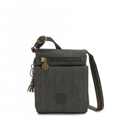 Sac Toile Kipling New Eldorado Black Indigo-Maroquinerie Quey Charlieu