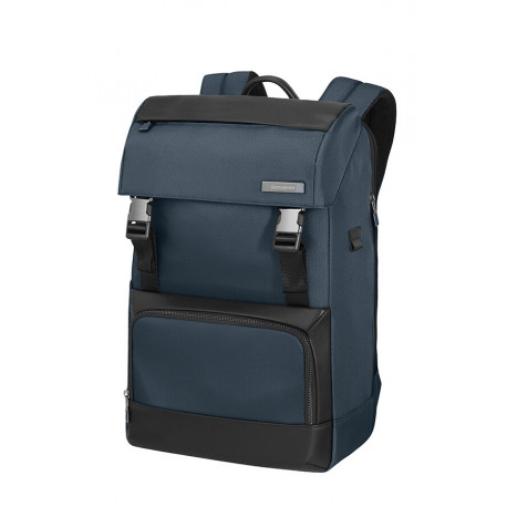 Sac à dos ordinateur Samsonite 123572*1090 Safton Flap Blue