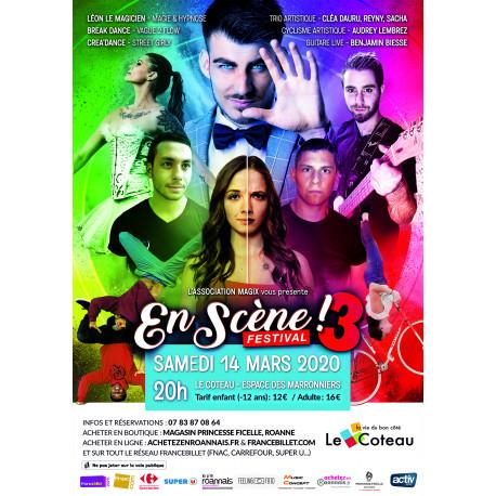 """Spectacle """"En Scène"""" 3ème édition - Samedi 14 Mars 2020"""