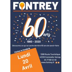 60 ans Fontrey - Lundi 20 Avril 2020