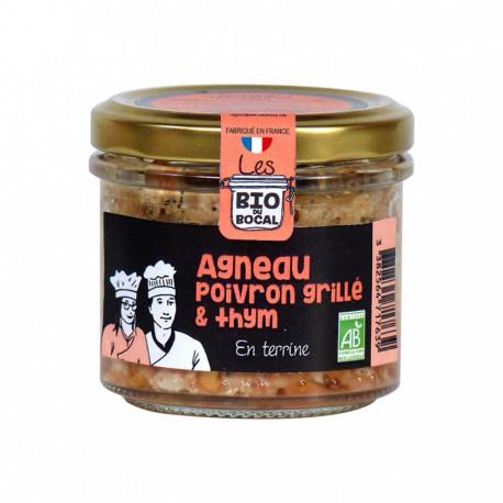 Terrine d'Agneau, poivrons grillés & thym bio