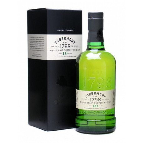 TOBERMORY - 10 Ans - Mull Scotch Whisky