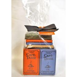 Assortiment Mini-tablettes de chocolat