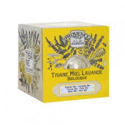 Tisane Miel Lavande Bio Cube métal