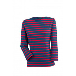 T-Shirt Galathée Marine/Tulipe