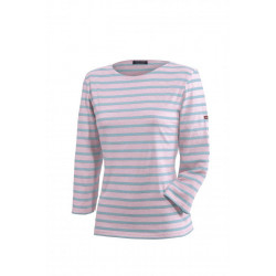 T-Shirt Galathée Rose/Rivage
