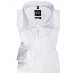 Chemise manches longues Olymp Level Five blanche 6090/64/00