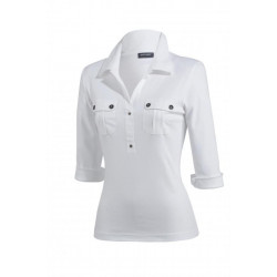 Polo femme Oléron Saint James boutique MENS Roanne
