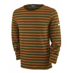 T-Shirt Méridien Moderne Olive/Phare