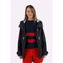 Parka duffle-coat Deauville Marine