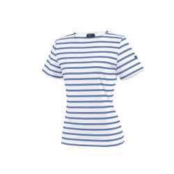 Tee-shirt manches courtes Etrille Neige/Cabine