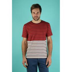 T-shirt Armor Lux 75147 marte/lana/chianti