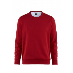 Pull coton Olymp Casual 0160/11/37 bordeaux