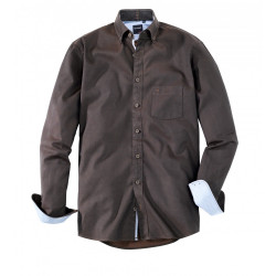 Chemise manches longues Olymp Casual 4038/24/28 marron