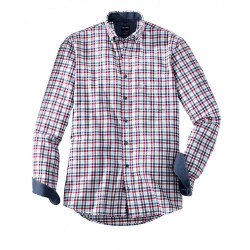 Chemise manches longues Olymp Casual 4056/24/38 carreaux chianti