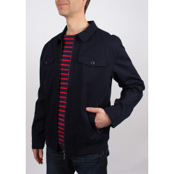 Blouson St-Sever Navy Saint James