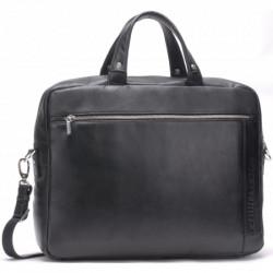 Cartable cuir Arthur & Aston 1385 27 Noir