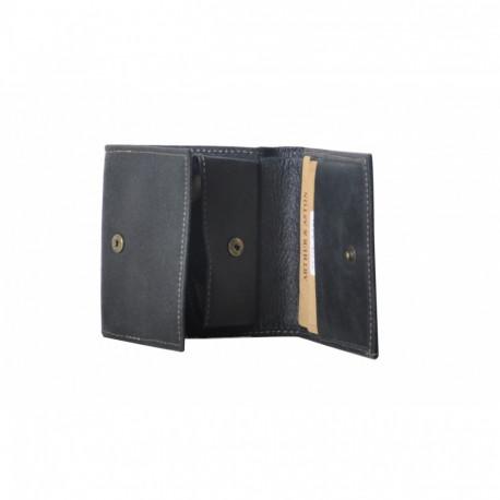 Porte monnaie homme Destroy Arthur & Aston 62 771 D Noir