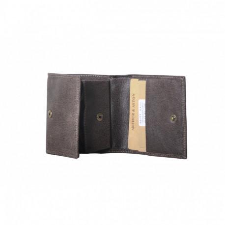 Porte monnaie homme Destroy Arthur & Aston 62 771 C Châtaigne-Maroquinerie Quey Charlieu